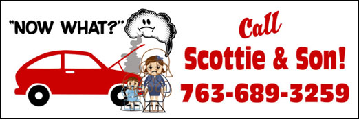 See Scottie & Son Auto Center for all your auto repairs.