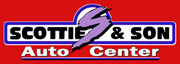 Scottie & Son Auto Center tow truck.